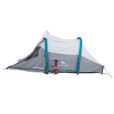 Tente de camping familiale air seconds family 4 xl fresh - Tente 4 places 2 chambres seconds family 4 2 xl quechua ...