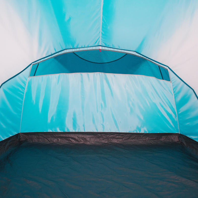 Camping tent with poles - Arpenaz 4.1 - 4 People - 1 Bedroom