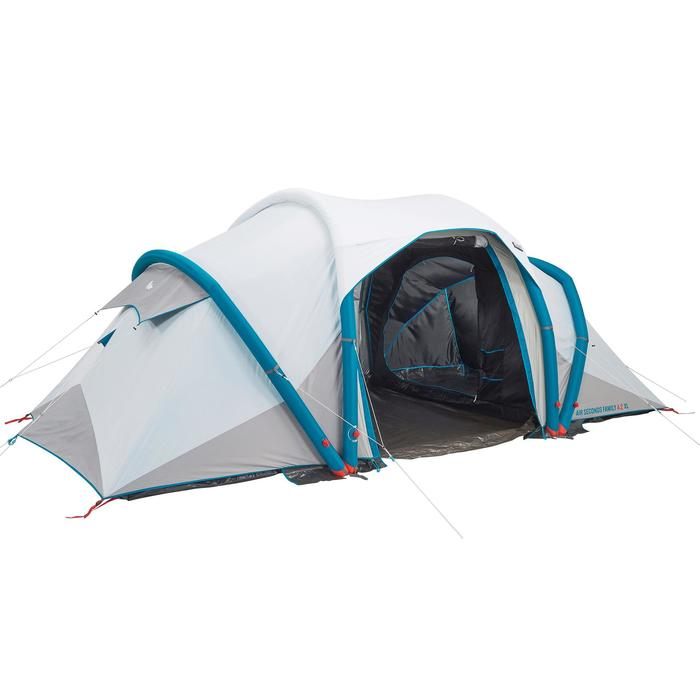 Tente de camping familiale Air Seconds family 4.2 XL Fresh & Black I 4 personnes - 1099252