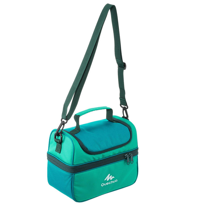 MH500 4 4 L Hiking Lunch Box Ice Box (with 2 Food Boxes) - Green