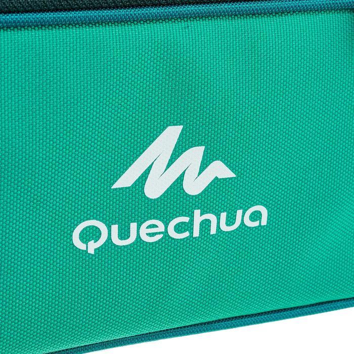 Koeltas voor wandelen Lunch Box MH500 (met 2 bewaardoosjes) 4,4 liter groen