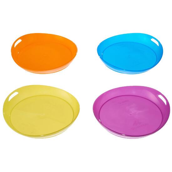Plat kampeerbord plastic - 1099322
