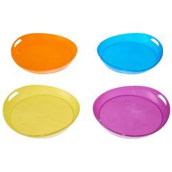 Assiette plate camp du randonneur plastique