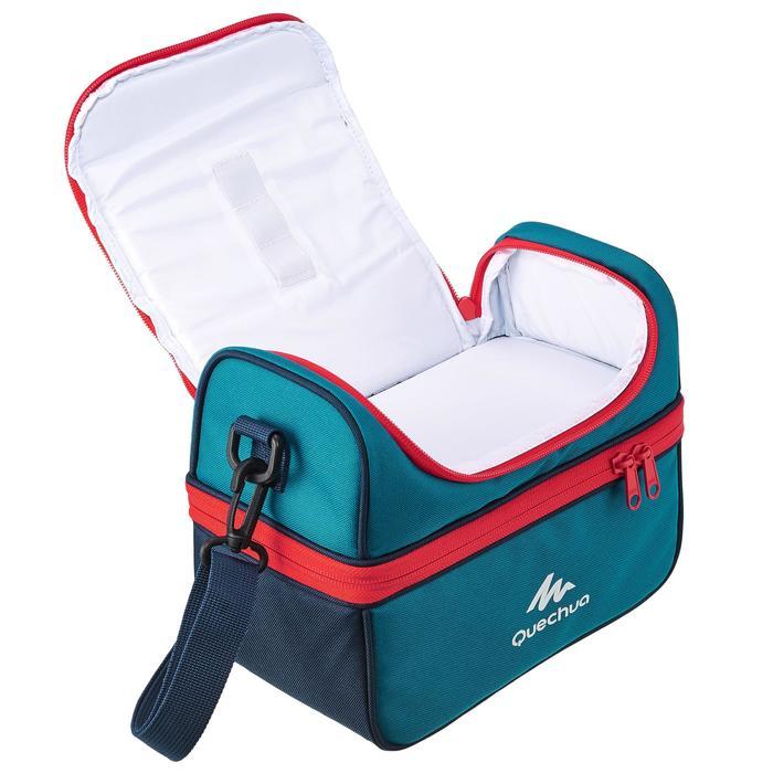 登山保冷餐盒MH500(2個食物盒)4.4 L-藍色