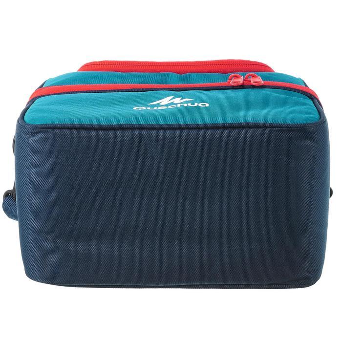 Kühltasche Lunchbox MH500 mit zwei Lebensmittelbehältern 4,4 Liter blau