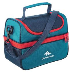 MH500 Lunch Box Hiking Cool Bag (With 2 Food Boxes) 4.4 L - Blue