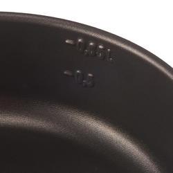 Kookset voor trekkers aluminium 4 personen (2,5 liter) met antikleeflag - 1099353