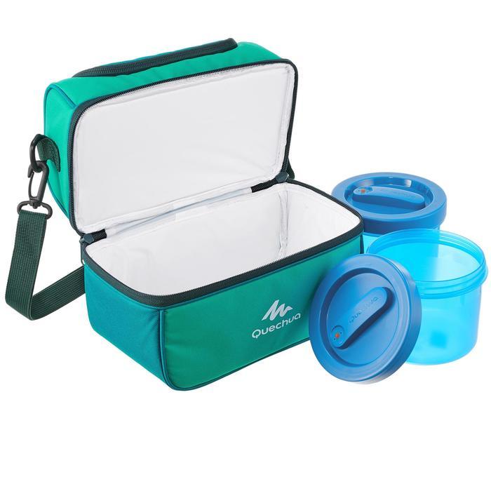 Glacière Lunch box MH500 randonnée (avec 2 boîtes alimentaires) 4,4 litres - 1099356