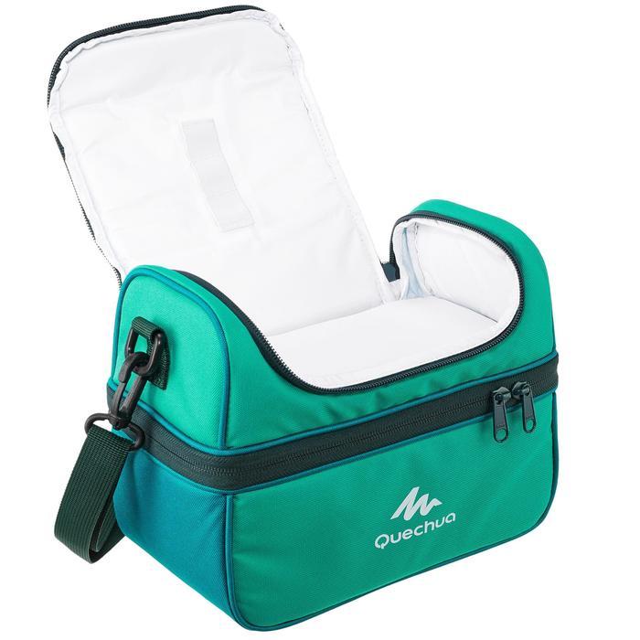 Glacière Lunch box MH500 randonnée (avec 2 boîtes alimentaires) 4,4 litres vert