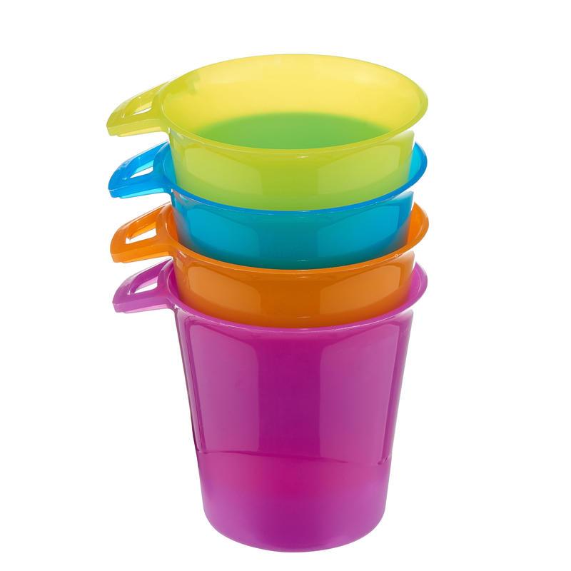 Hiking utensils pack of 4 glasses