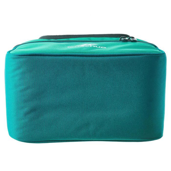 Kühltasche Lunchbox MH500 (inkl. 2 Lebensmitteldosen) 4,4L grün