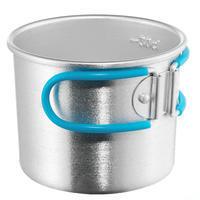 Hiking utensils, aluminium mug