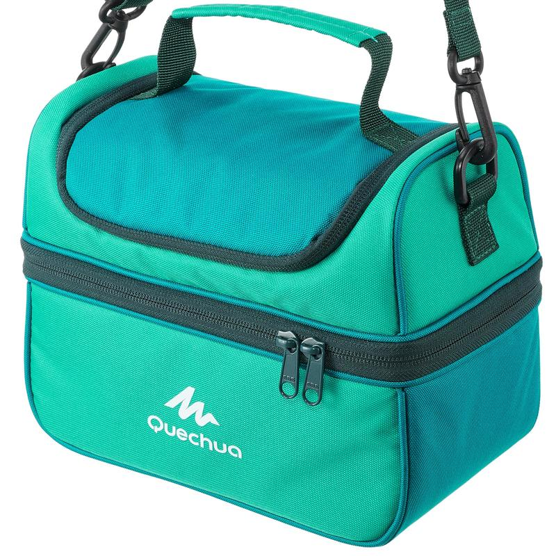 Lunch Box Hiking Cool Bag - 2 Food Boxes Included - 4.4 Litres