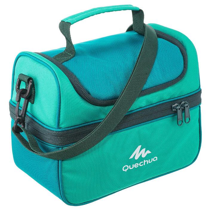 Glacière Lunch box MH500 randonnée (avec 2 boîtes alimentaires) 4,4 litres - 1099394