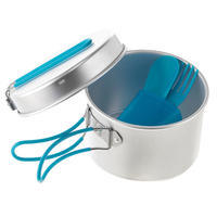 Aluminium Camping/Hiking Cookset - 1 Person (1 Litre)