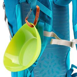 Diep bord voor camping / trekking plastic - 1099401