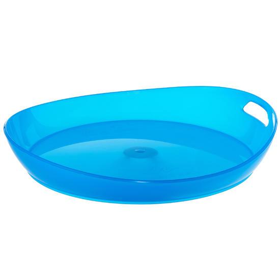 Plat kampeerbord plastic - 1099421