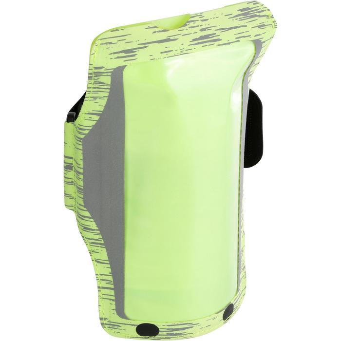 Sportarmband voor grote smartphone fluogeel