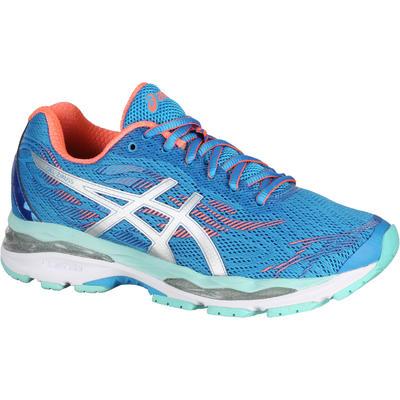 magasin d'usine 328b0 03677 chaussure de running femme ASICS GEL ZIRUSS bleu corail
