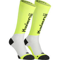 """""""Kanergy"""" kompresinės bėgimo kojinės – geltonos"""