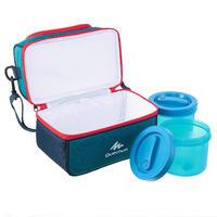 Žygiams skirtas maisto šaltkrepšis MH500 (su 2 dėžutėmis maistui), 4,4 l