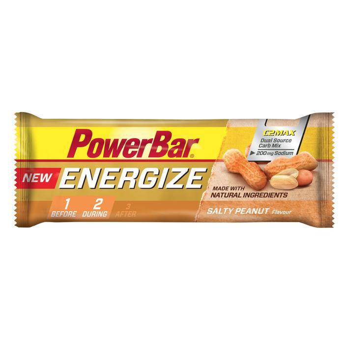 Barrita energética ENERGIZE cacahuete salado 55 g
