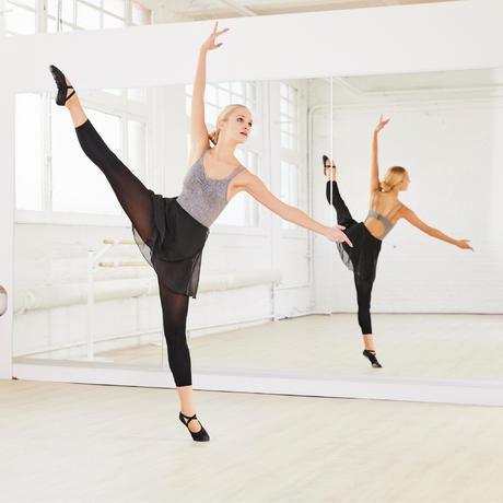 jupette noire portefeuille en voile de danse classique femme domyos by decathlon. Black Bedroom Furniture Sets. Home Design Ideas