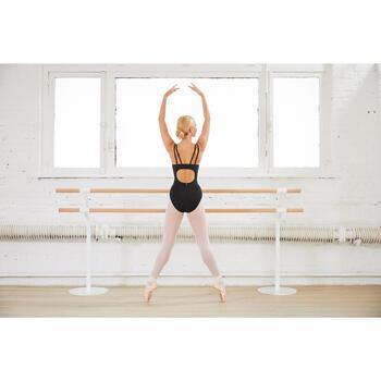 Balletpakje met buste-ondersteuning voor dames zwart