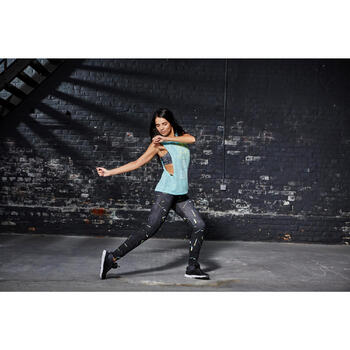 T shirt sans manche danse effet - 1099641