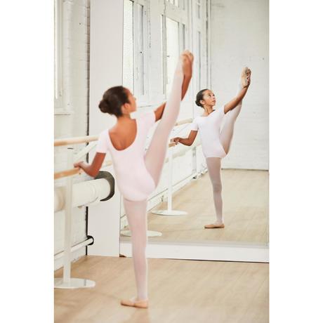 ... justaucorps de danse classique manches courtes noir fille domyos by  decathlon a64029cabef