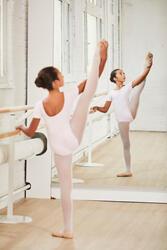 Balletpakje met korte mouwen voor meisjes - 1099668