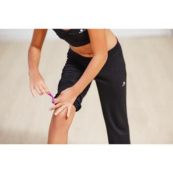 Pantalon ajustable fille noir - 1099683