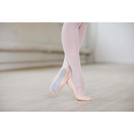 1b2ccc832657 Woven Demi-Pointe Ballet Shoes - Salmon