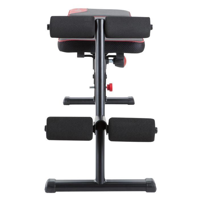 Opklapbare en schuin te zetten fitnessbank 500 DOMYOS - 1099732