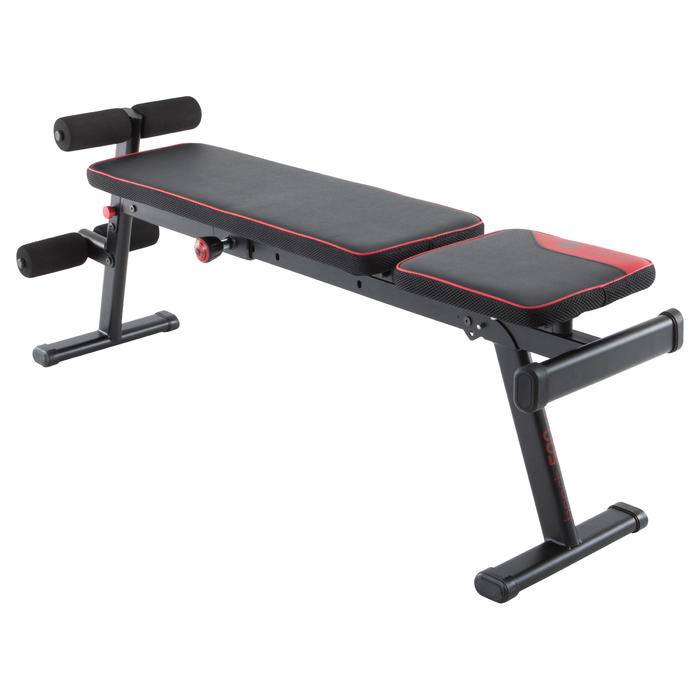 Banc De Musculation  Pliable Et Inclinable Domyos