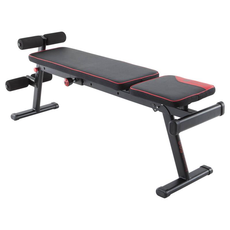NO_NAME_FOUND Fitness - POSILOVACÍ LAVICE 500 DOMYOS - Posilování a kruhový trénink