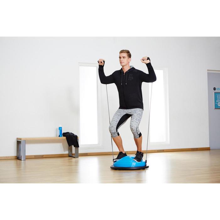 Herenbroek 520 voor gym en stretching regular fit grijs