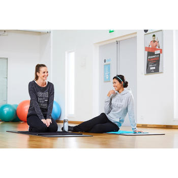 Bandeau élastique (lot de 3) fitness cardio-training femme rose et noir