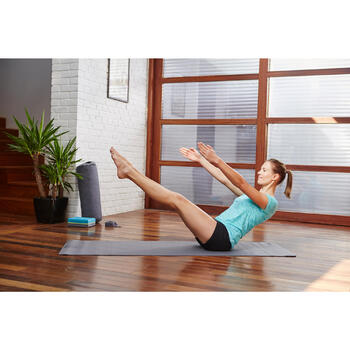 Short yoga doux femme coton issu de l'agriculture biologique - 1099824