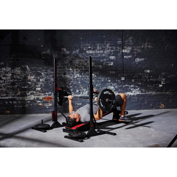 Repose barre musculation Rack 100 - 1099844