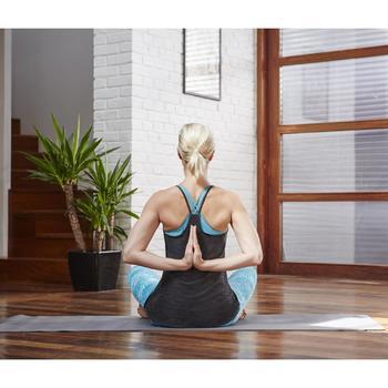 Brassière Confort + fitness cardio femme grise 100 Domyos - 1099852