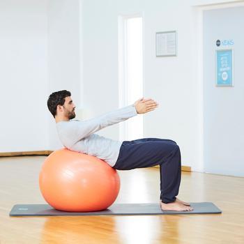 Broek 900 regular fit pilates en lichte gym heren marineblauw