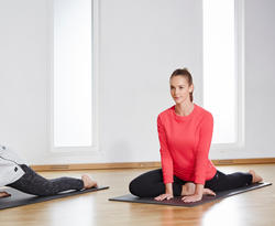 Gym- en pilatesmat Club zwart - 1099865