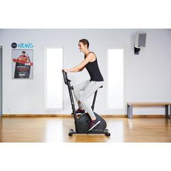 Tank-Top 100 Gym & Pilates Damen schwarz