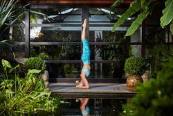 Kuitbroek Yoga+ voor dames - 1099875