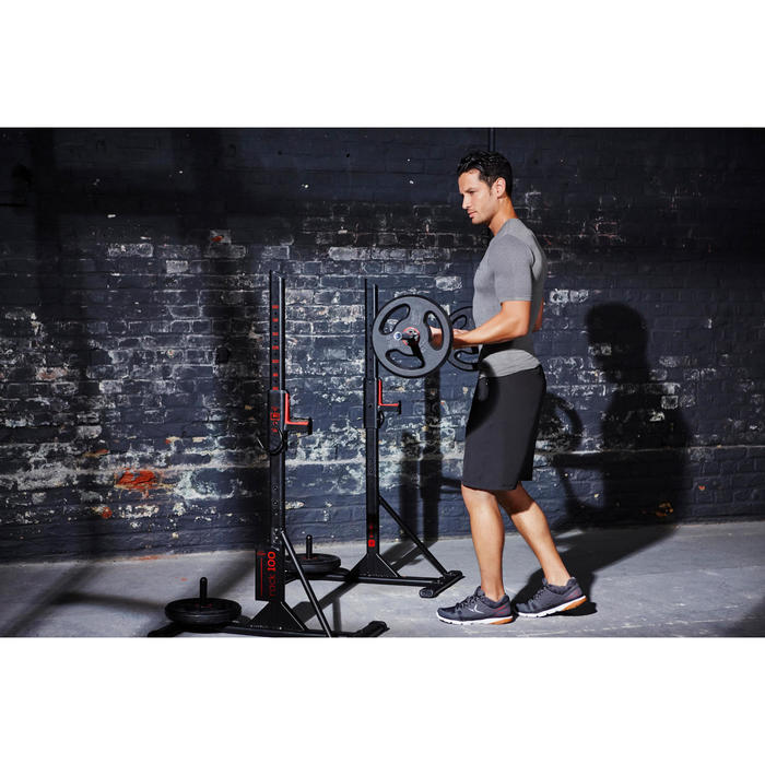 Repose barre musculation Rack 100 - 1099887