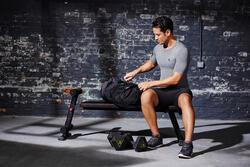 Kokertas Medium Strong fitness zwart/rood - 1099890