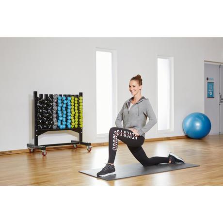Chaussure fitness cardio femme noir energy 100 mid for Gimnasio cardio pilates