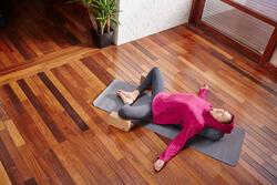 Fleece damessweater voor relaxatie bij yoga - 1099895
