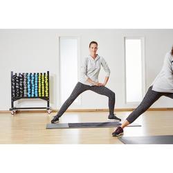 Toalla Gimnasio Cardio Fitness Domyos 90x50cm Negro